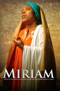 "Miriam ~Noire Icons of the Bible by James C. Lewis, International Photographer ~ ""How might Biblical characters really look? Blacks In The Bible, Black Royalty, Black Jesus, African Royalty, Saint Esprit, Black Art Pictures, Biblical Art, Black Artwork, Religion"