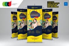 Photography - Roll-Up Banner 2 - Flyers - 1
