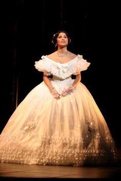 ANNA NETREBKO 1971 as Violetta in ''La Traviata''