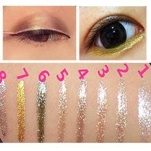 1PCS Free Shipping Women Shiny Long Lasting Eye Liner Waterproof Makeups Eyeliner Liquid Beauty Cosmetic Tool Gift For Girls(China (Mainland))