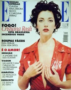 ELLE Brasil - June Junho 1996 - Cristiana Reali