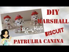 DIY: PAW PATROL ( MARSHALL) TUTORIAL- COLD PORCELAIN - YouTube