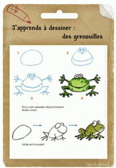 Apprendre dessiner animaux 1400 1980 a - Dessiner un crabe ...