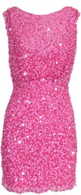 Pink and Sequins- so pretty Pink Love, Pretty In Pink, Hot Pink, Sequin Rose, Pink Sequin Dress, Glitter Dress, Pretty Dresses, Beautiful Dresses, Sparkly Dresses