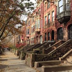 In my ideal world...I'd own one of these brownstones