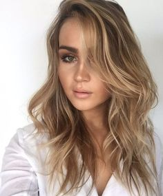balayage hairstyle ideas highlights blonde light brown