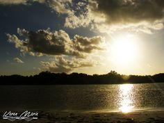 Los ocasos del Caribe. Boca Paila, Quintana Roo.
