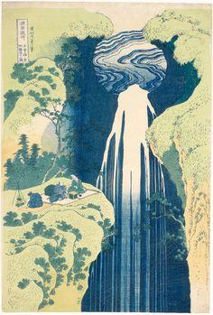 Katsushika Hokusai Veduta della folla a Yatsuyama durante la fioritura dei ciliegi Palazzo Reale