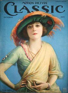 Silent Movie Magazine - Motion Picture Classic - Ethel Clayton