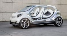 The Fourjoy concept is a forerunner to the next generation #smart cars #mbhess #smartconcept
