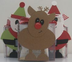 Christmas punch art by HopePackages - Cards and Paper Crafts at Splitcoaststampers