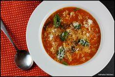 Kahakai Kitchen: Tomato Soup with Rice & Basil: Cooking Tessa Kiros for Souper (Soup, Salad & Sammie) Sundays