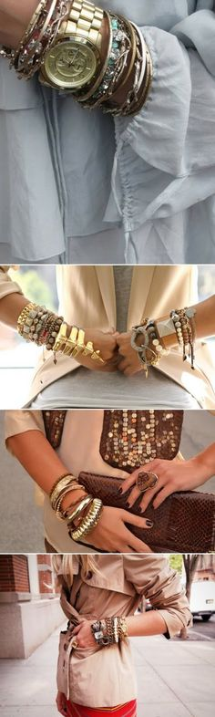 love an arm party!
