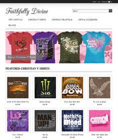 www.faithfullydivine.com Fashion Themes, Bows, Christian, Music, T Shirt, Gifts, Arches, Musica, Supreme T Shirt
