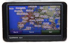 awesome Garmin Nuvi 265W Car GPS Navigation 2016 USACanada UK All Europe Maps Bluetooth - For Sale