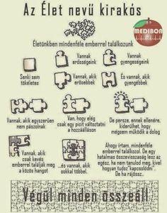 Hasznos puzzle :) #puzzle #élet #játék #kirakós