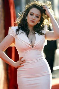Kat Dennings - Makes curvy girls like me, look stunning !