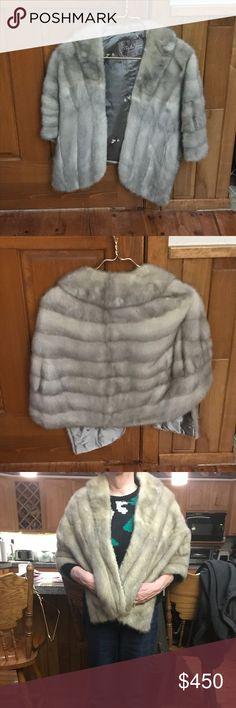 Real fur Nigbor fur vest  Mink fur Limited edition Make offers nigbor furs Jackets & Coats Vests