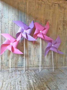 Pinwheels  Princess Collection  Princess Party Decor by HalosHaven, $22.80