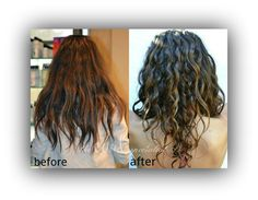 Before and After: Curly cut and Style by The Curl Specialist. https://www.facebook.com/TheCurlSpecialist