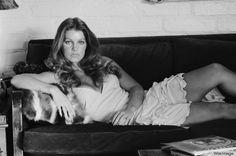Priscilla Elvis Presley, Priscilla Presley, Lisa Marie Presley, Terry O Neill, Classic Actresses, Vintage Models, Graceland, Brigitte Bardot, John Lennon
