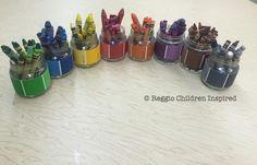 Paint Swatch Ideas! #reggiochildreninspired