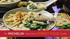The Michelin Hong Kong Street Food Guide