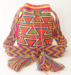 Tribal Mochila Wayuu Bag Different styles by EdensGlobalTreasures, £92.00