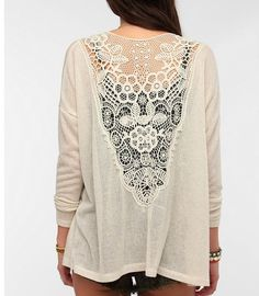 Lace backs are one of my favorites!