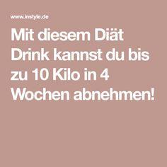 Mit diesem Diät Drink kannst du bis zu 10 Kilo in 4 Wochen abnehmen!