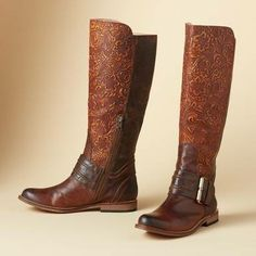 #Kayley Riding Boots by Lucchese