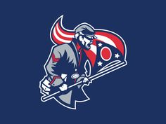 Columbus Blue Jackets logo design concept. Feel free to share your comments, suggestions and critiques! Thanks for looking!