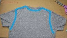WobiSobi: Weaved Back Tank, DIY Umgestaltete Shirts, Diy Cut Shirts, T Shirt Diy, Diy Clothes Refashion, Shirt Refashion, Diy Cutout Shirt, T Shirt Weaving, Shirt Alterations, Cut Shirt Designs
