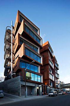 edificio Ironbank es una obra del despacho de arquitectos RTA Studio. Situado en Auckland, Nueva Zelandag (480×720)