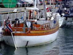 Colin Archer style yacht Hilde | par nz_willowherb