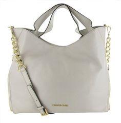 Michael Kors Devon Large Womens Tote Purse Handbag White