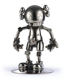 View KAWS x Hajime Sorayaman No Future Companion Black Chrome by KAWS on artnet. Browse more artworks KAWS from Marcel Katz Art. Museum Of Modern Art, Art Museum, Crane, Kaws Toys, Robots For Kids, Vinyl Toys, Designer Toys, Art For Sale, Fashion Art