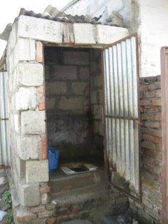 Rural Nepal school toliet with a door. Submitted by @MaternalEarth via Twitter.