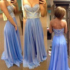 Pd322 Charming Evening Dress,Chiffon Evening Dress,Beading Evening Dress,Sweetheart Evening Dress
