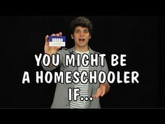 ▶ Messy Mondays: You Might Be a Homeschooler If... - YouTube