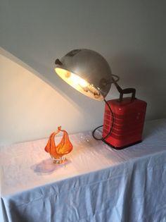 Vintage Tischlampen - Strahlemann! - ein Designerstück von beckmaen bei DaWanda