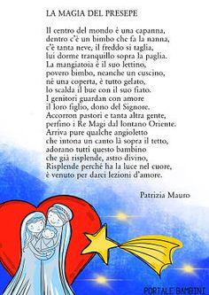 la magia del presepe poesie di natale #natale #filastrocche