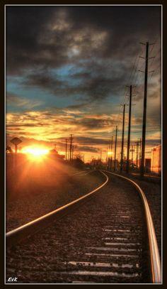 #Langley #Railway #Sunset