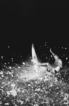 Taj Burrow... night surf...