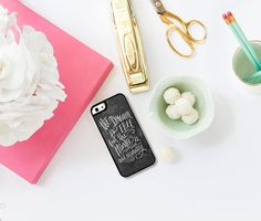 Hustle Smart Phone Case iPhone 5/5S case iPhone 6 by LilyandVal