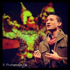 Ok's artistic prowess has intensified since we began following his work in late 2009. The multi-talented 20-something Long Beach resident is an artist, teacher, and cultural activist who in 2011 earned the prestigious honor of being a TED Fellow for his experimental work in Cambodian classical dance, much of which addresses LGBT issues. Currently, Prum is the Project Director and Executive Editor of VoiceWaves, a non-profit that fosters youth-driven journalism. #prumok  Photo Credit: James…