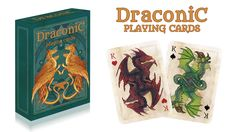 DRACONIC PLAYING CARDS by Four Hogs - LudiBooster — Kickstarter  Dragon themed playing card deck