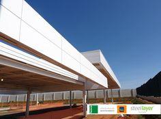 #steellayer #decor #fachada #aco #aço #ambiente #externo #inovacao #inspiracao #impecavel #corporativo #residencial #home #casa #escritorio #empresa #projeto #obras #termoacustico
