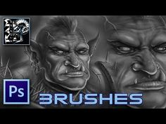 My Custom Brush Set for Digital Painting in Photoshop