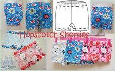 Hopscotch Shorties underpants for girls http://www.felicitysewingpatterns.com/product/new-pattern-release-hopscotch-shorties-girls-2-14-years-felicity-sewing-patterns